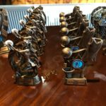Trophies donated by Darren Fraser